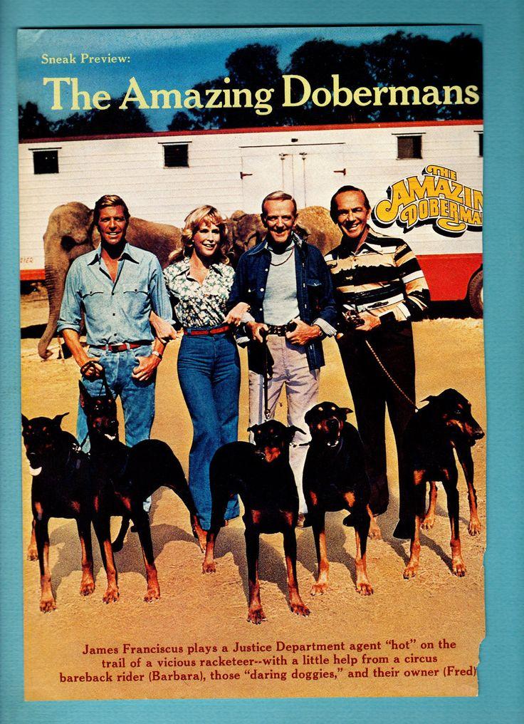 "Barbara Eden in ""The Amazing Dobermans"" Movie"