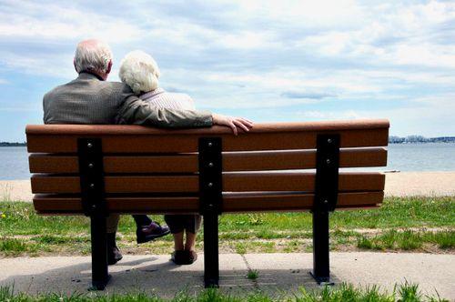 idős szerelmes pár