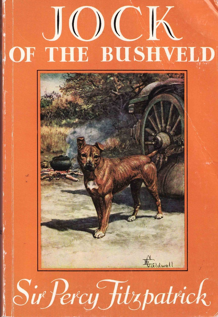 """Jock of the Bushveld - a true story of a young man's life on the """"drover trains"""" of South Africa, told in simple, descriptive language which makes you feel you are there."""