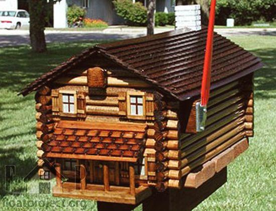 Ordinaire Diy Log Cabin Mailboxes   Google Search