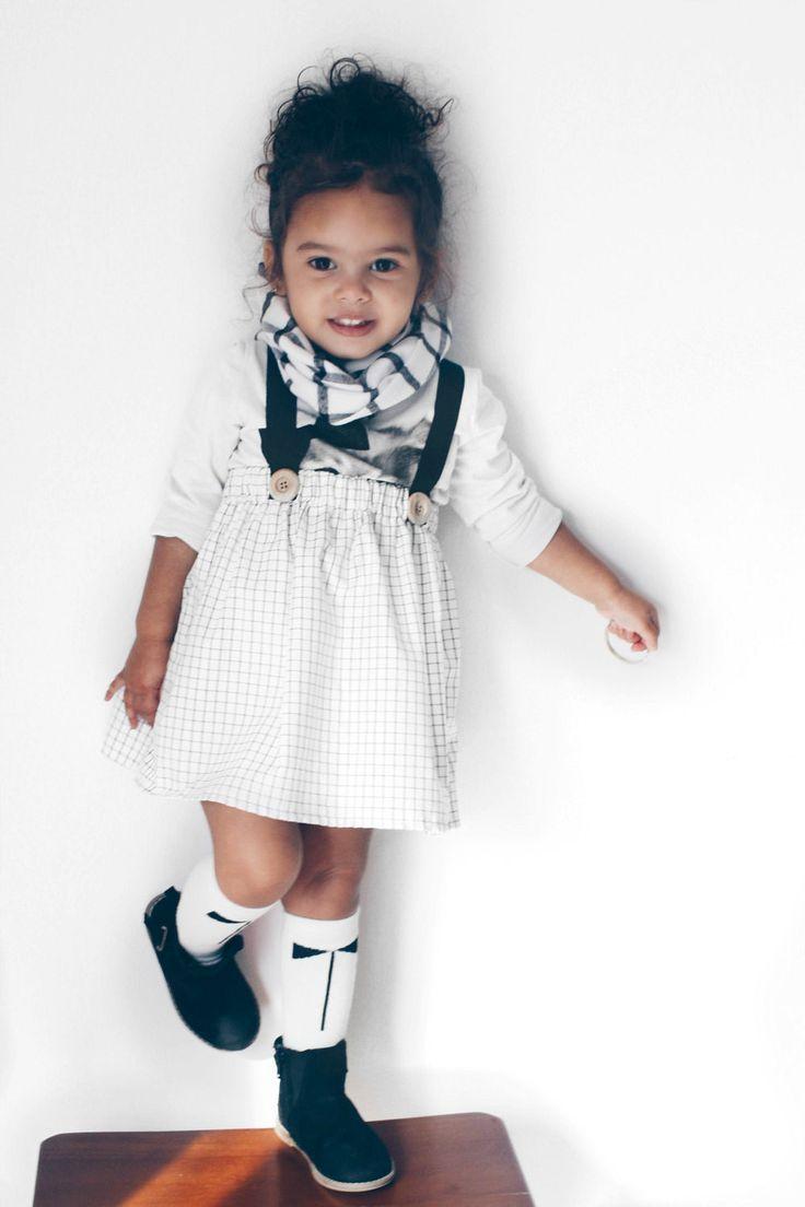 Handmade Cotton Suspender Skirt | MadebyJeniffer on Etsy