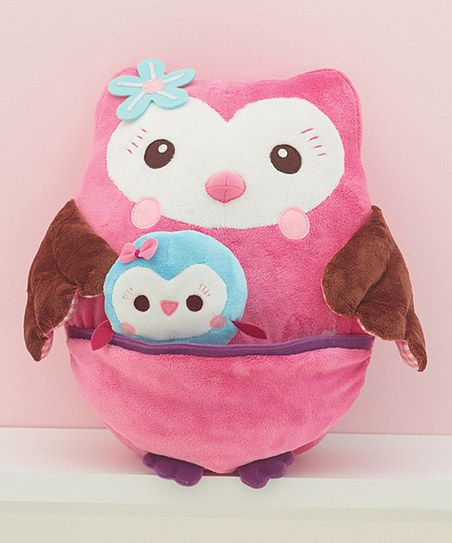 Who Loves You Plush Owl