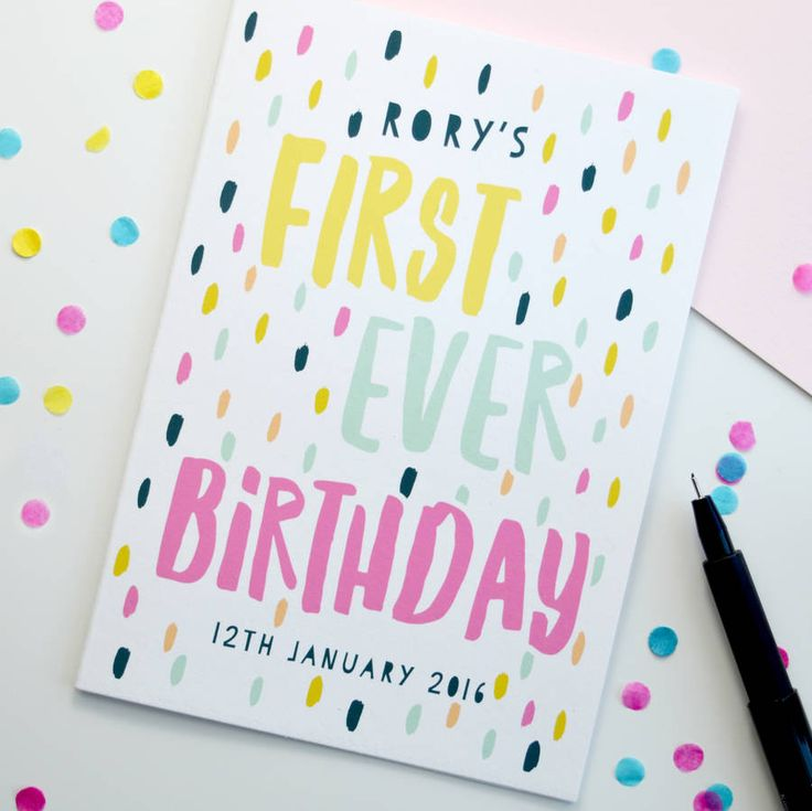 First Birthday Quotes: 1000+ Ideas About First Birthday Cards On Pinterest