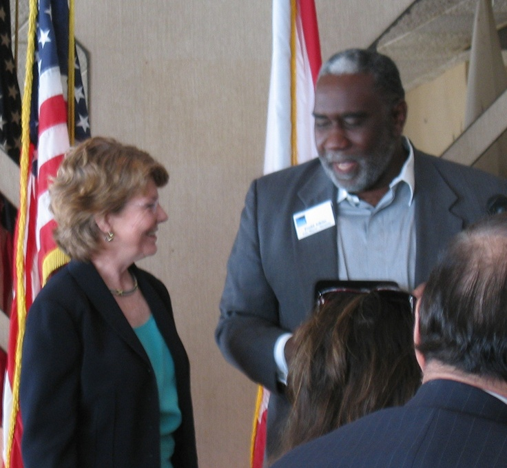 Florida Secretary of State Glenda Hood was presented the Keys to the City of Sarasota by Sarasota Vice Mayor Fredd Atkins  as the keynote speaker at the Florida Sister Cities State Convention hosted by Sarasota Sister Cities at the Helmsley Sandcastle Hotel on Lido Key in 2005