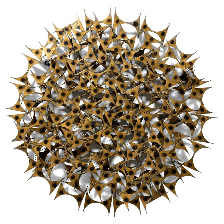 """Marc Weinstein """"Starburst"""" Wall Sculpture 