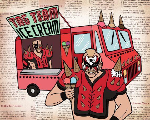 Tag Team Ice Cream Truck