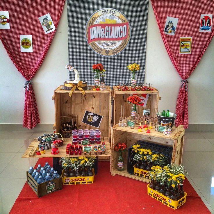 Inspiração: Festa com tema Boteco - Ideias em Casa