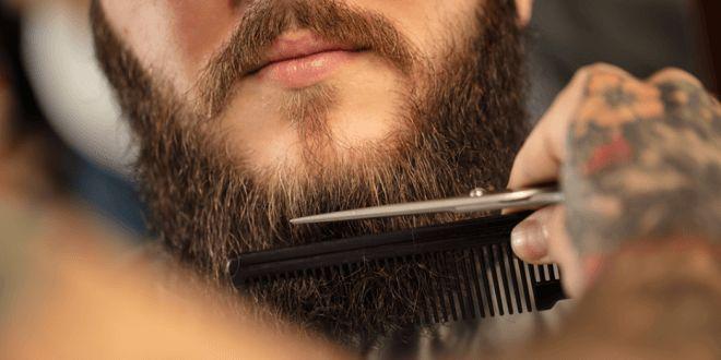 Como Aparar A Barba Com Tesoura e Maquina De Barbear!