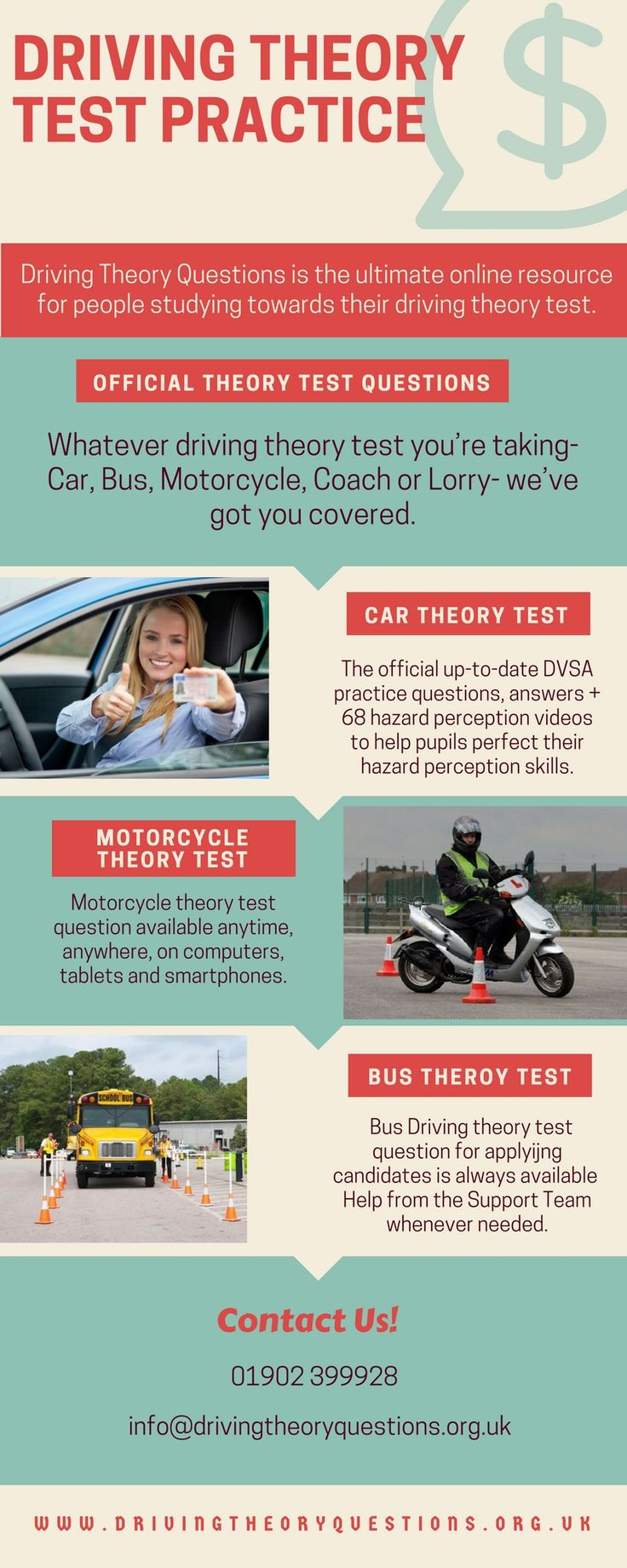 A well established #driving #theory #centre generally provides candidate different types of driving tests tutorils so that one could familirize with the format. Driving Theory #Questions has updated theory #questions for the best results. Visit us now!
