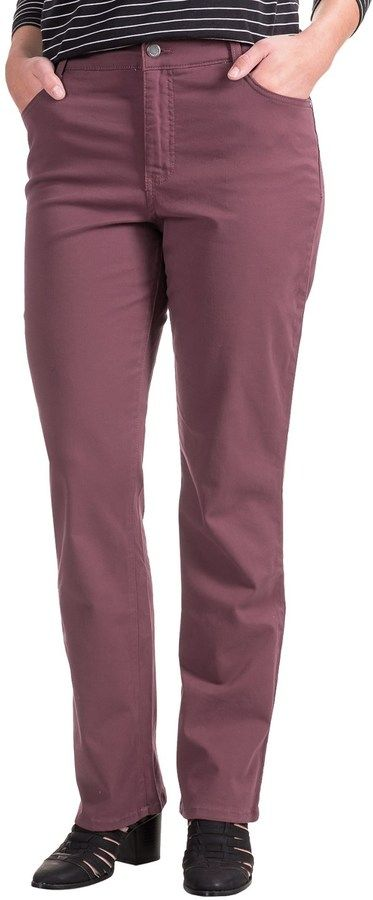 Specially made Amy Stretch Jeans - Low Rise, Slim Fit (For Women)