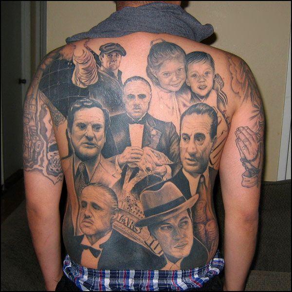 Mafia Movie Tattoos Clipart Library