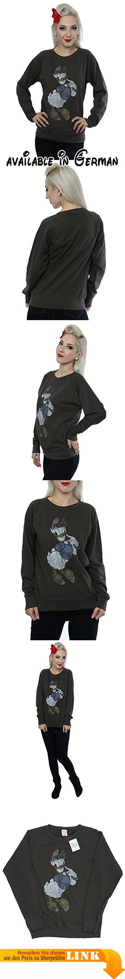 Disney Damen Classic Daisy Duck Sweatshirt X-Small Licht Graphite. Offiziell lizenzierte Waren mit allen autorisierten Lizenzgeber Branding, Verpackung und Kennzeichnung. 240gsm leichtes Kleidungsstück perfekt für den Sommer oder tragen das ganze Jahr über.. Leichtes unbrushed Vlies, Raglanärmel und geformter Seitennähte für eine feminine Form.. Bitte überprüfen Sie Ihre Dimensionierung Enttäuschungen zu vermeiden. Unsere Größe X-Small ist das Äquivalent eines