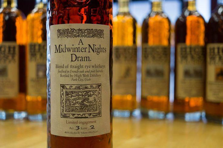 High West Distillery's A Midwinter Nights Dram