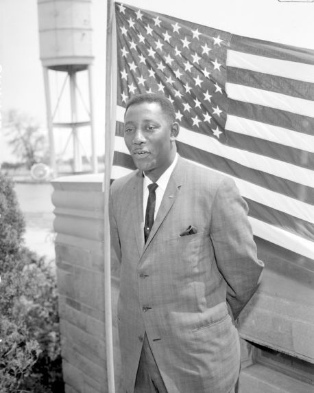 Charles Evers, September 11, 1923 Charles Evers, brother of Medgar, Mayor of Fayette Miss. (elected 1969), born