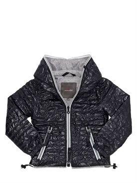 duvetica - niño - chaquetas de plumas - chaqueta de plumas de nylon acolchado con capucha