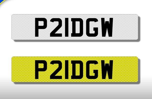 Myshowplates   Online number plate builder   Make your own car or motorbike number plate   Fast delivery
