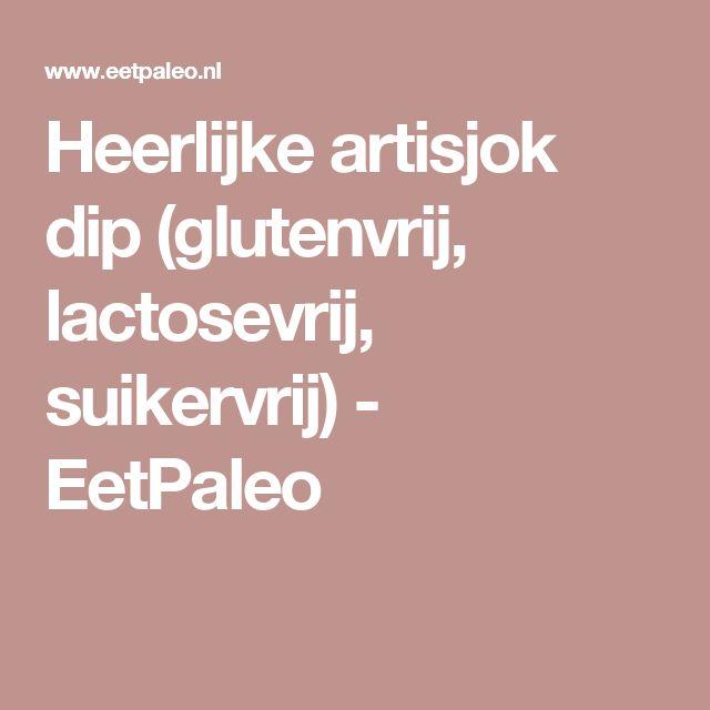 Heerlijke artisjok dip (glutenvrij, lactosevrij, suikervrij) - EetPaleo