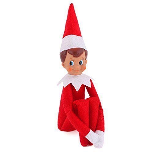 Elf On The Shelf Figure Magic Christmas Red Boy Toy Kids Plush