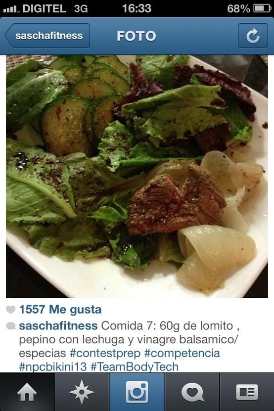 Tips de Sascha.. Alimentación Fitness