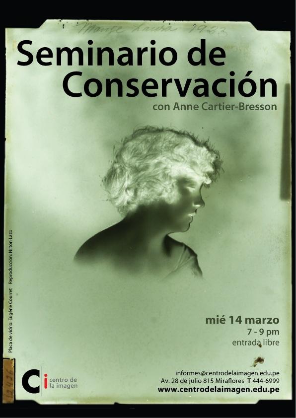 Seminario con Anne Cartier- Bresson 2012