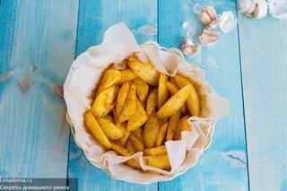 Еще больше рецептов здесь https://plus.google.com/116534260894270112373/posts  Запеченый картофель по-деревенски с паприкой и тимьяном  Те самые вкусные дольки фастфудного запеченного картофеля. Здоровый вариант классического рецепта. Время приготовления: 35 мин.  Что нужно: Картофель Растительное масло Специи: паприка+тимьян сушеный+соль+перец  Рецепт: 1. Духовку разогреть до 225 градусов. Картофель нарезать дольками.  Хорошо перемешать со специями и растительным маслом (1 ст.л. на 1…