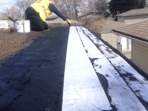 Tar And Gravel Flat Roof Repairs Edmonton Alberta. Since Tar And Gravel Was  First Discovered It Has Been The Go To Flat Roof For Decades.