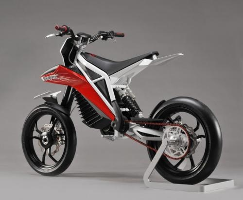 BMW Unveils Concept Husqvarna Concept E Go Electric Motorcycle   Mono Front  Fork With Single Swingarm Rear //