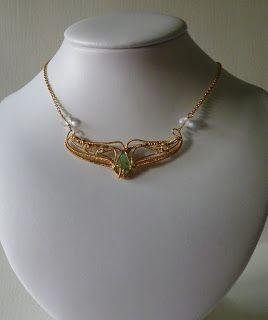 Valdombra Fairies: Collier Coda di Balena, prova in Bronzo e definitivo in Oro