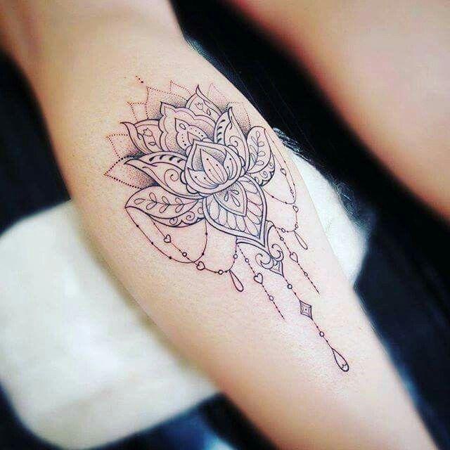 Tatoo flor de Lotus!