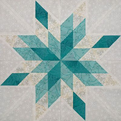 snowflake quilt block - Google Search