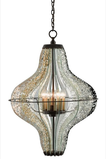 Zanzibar chandelier design by currey company