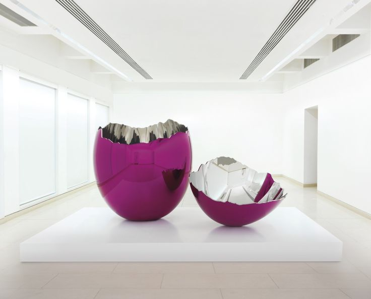 Jeff Koons, Cracked Egg Magenta