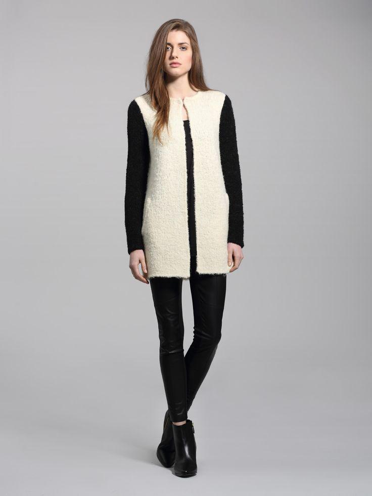 Left on Houston Hendricks sweater coat