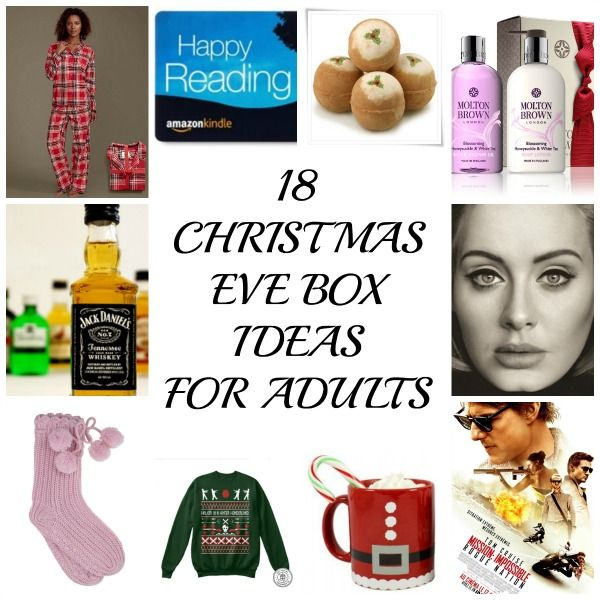 18 Christmas Eve box ideas for Adults because everyone deserves a bit of festive…
