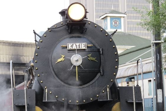 "Steam train ride on ""Katie"" from Cape Town to Simonstown & back"