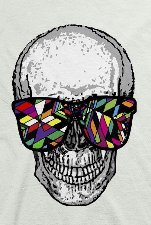skull wallpaper 133 colorful - photo #31