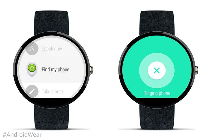 Wear is my phone? Now you can find your lost phone with #AndroidWear. http://goo.gl/JXQPYy