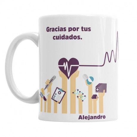 Taza Para la Mejor Enfermera I - regala a tu enfermera la mejor taza personalizada - ideal para el día de la sanidad o día del enfermero