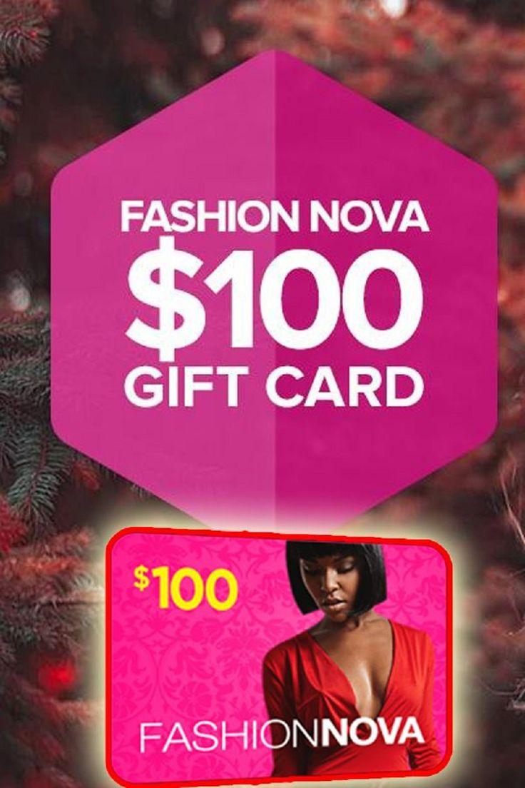 How to win 100 fashion nova gift card code in 2020