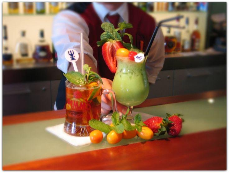 Exqusite Cocktail-Auswahl an der Lobby-Bar.