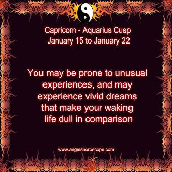 Capricorn - Aquarius Cusp