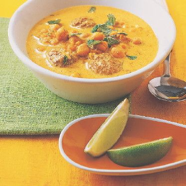 Linsen-Joghurt-Suppe