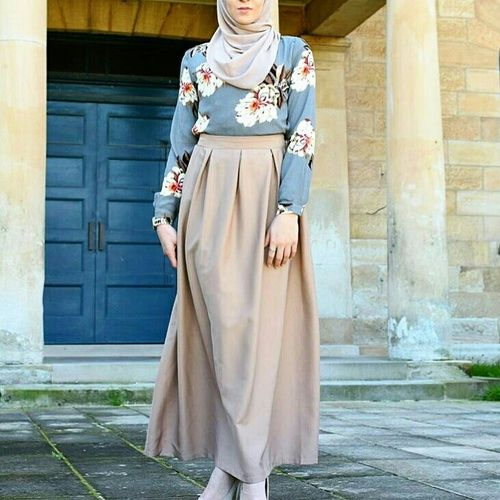 beauty, hijab, and design image