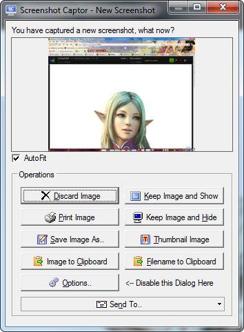 """Screenshot Captor 4.16.1 Englisch: Mit der Freeware """"Screenshot Captor"""" lassen sich Bildschirmfotos einfach erstellen, sortieren und bearbeiten."""