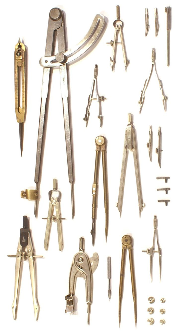 Tools Used In Drafting Equipment Or Instrument : Submission collection of compasses from the office