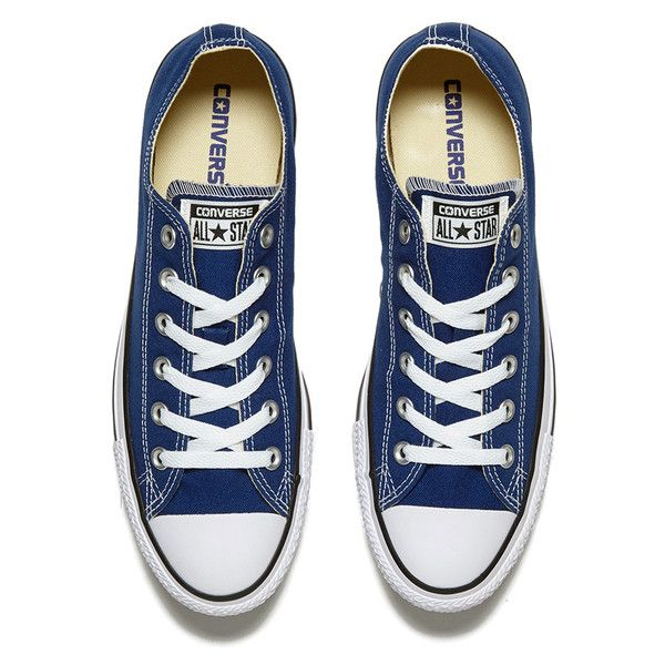 Converse Unisex Chuck Taylor All Star Ox Trainers Roadtrip... ($69) ❤ liked on Polyvore featuring shoes, sneakers, blue shoes, converse trainers, black white shoes, star shoes and white and black shoes