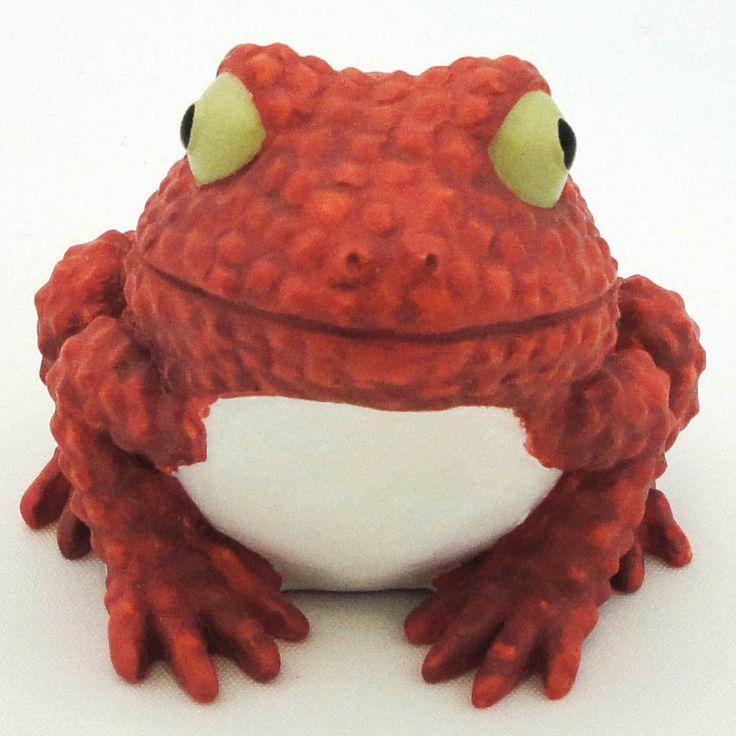Home Grown Lychee Nut Tree Frog Figurine