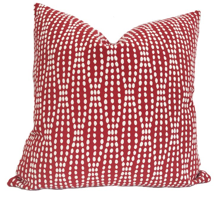 Pillow cover, Throw pillow, Decorative pillow, Accent pillow, Red throw pillow, Red cushion cover, Couch pillow, Shams, 13 sizes available by PillowCorner on Etsy