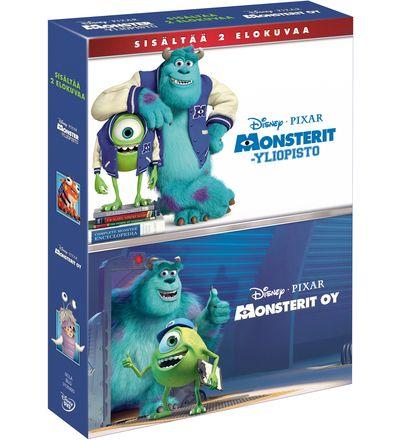 Disney Monsterit yliopisto & Monsterit Oy DVD-boksi | Karkkainen.com verkkokauppa