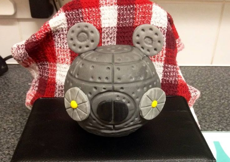 part of angry birds star wars cake i made 2014